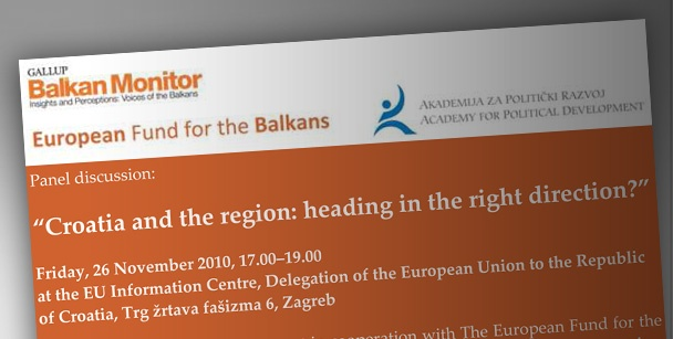 """Croatia and the region: heading in the right direction?"""